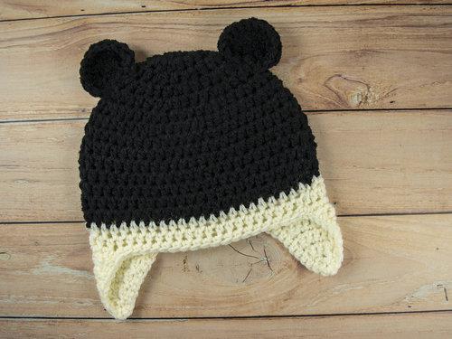 Black Bear Hat Semi Sweet Crafter