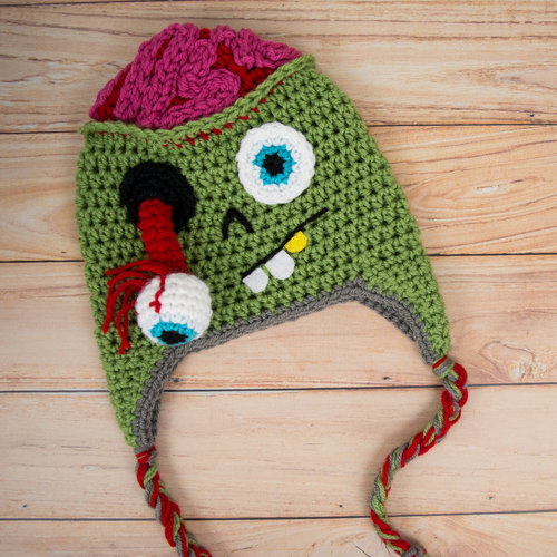 Zombie Hat — Semi Sweet Crafter