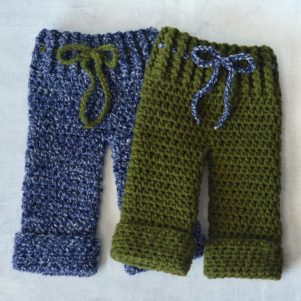 Newborn Pants Semi Sweet Crafter