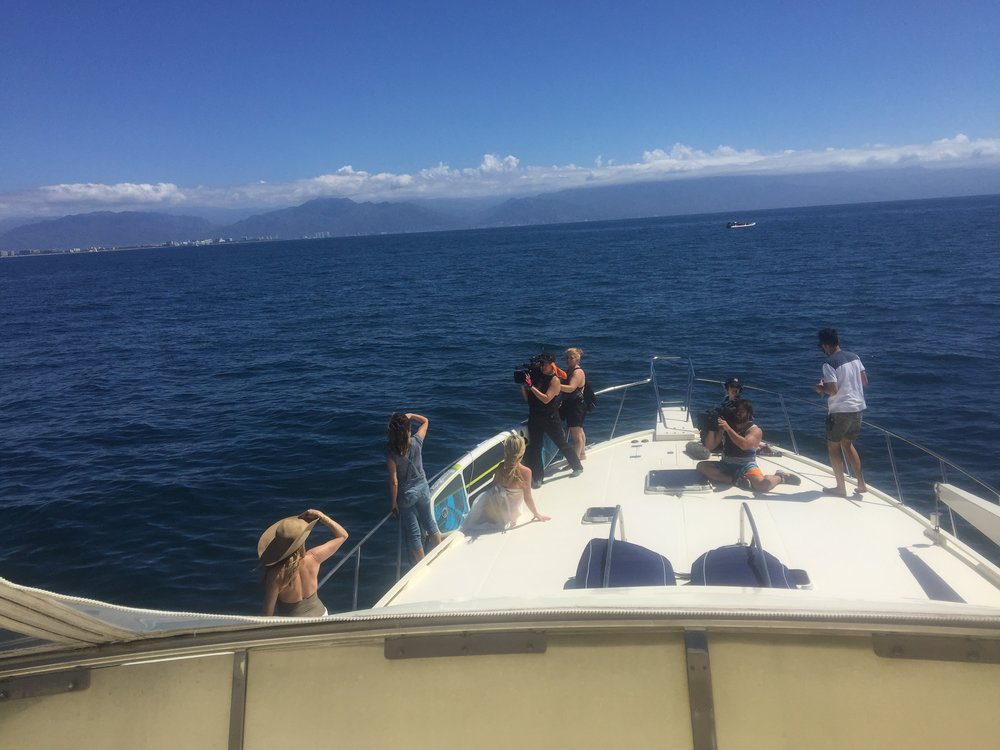 Real Housewives of New York filming on Costa Azul