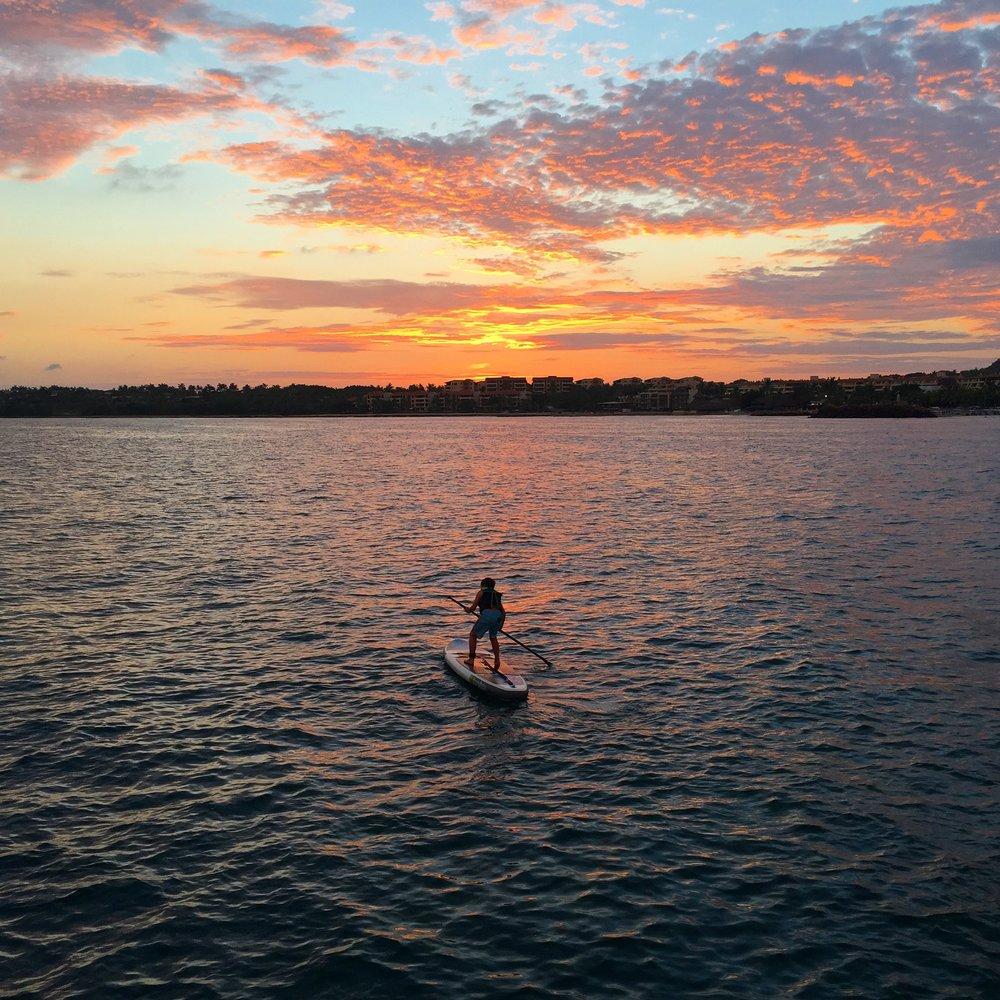 Sunset on Banderas Bay