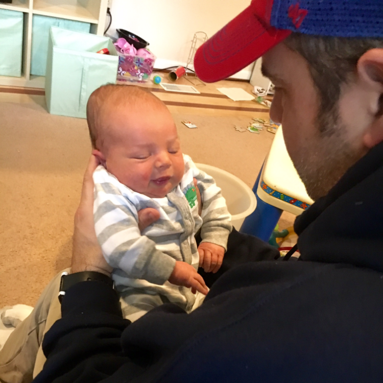 Uncle todd meets his newest nephew