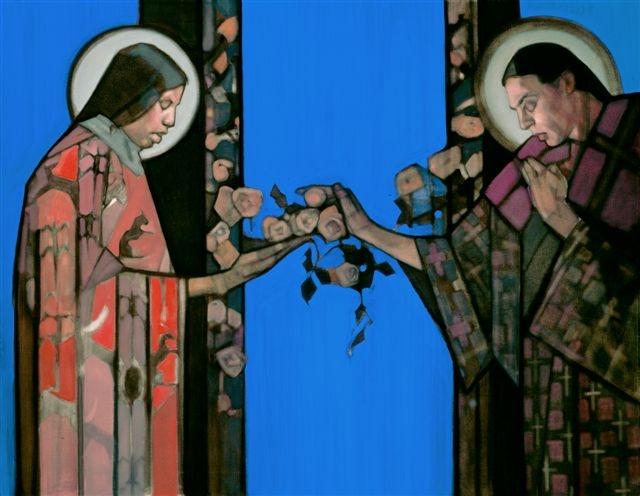 Annunciation  by Janet Mackenzie