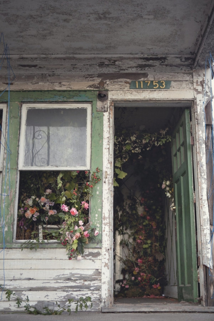 A Flower Farm Blooms From An Abandoned House in Detroit ( source )