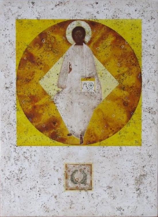 Christ In Glory by Demchuk Ivanka