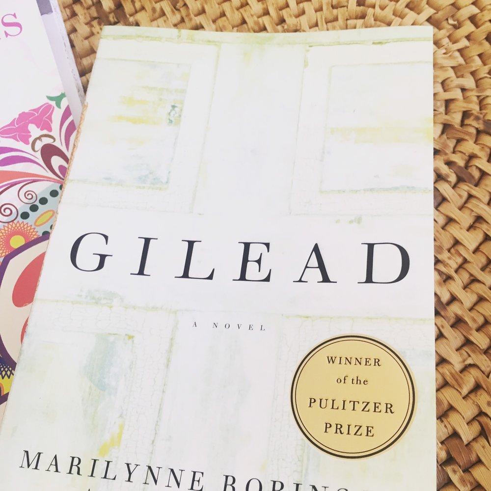 Apostles Reads. Gilead.JPG