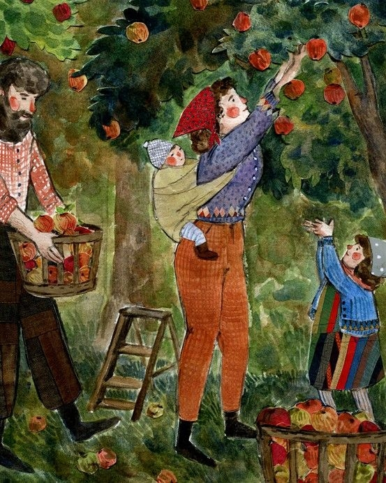 Apple Picking by Pheoebe Wahl