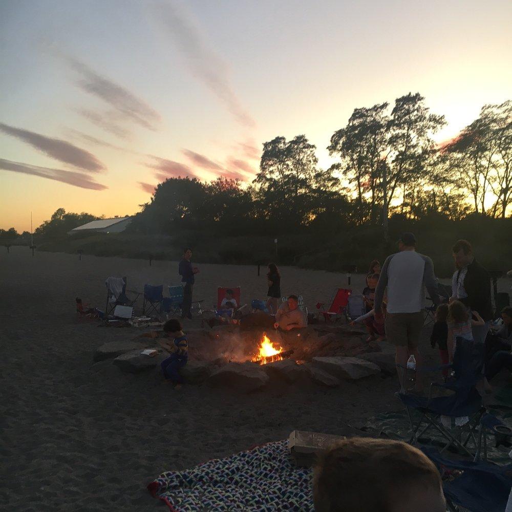 Beach Bonfire!