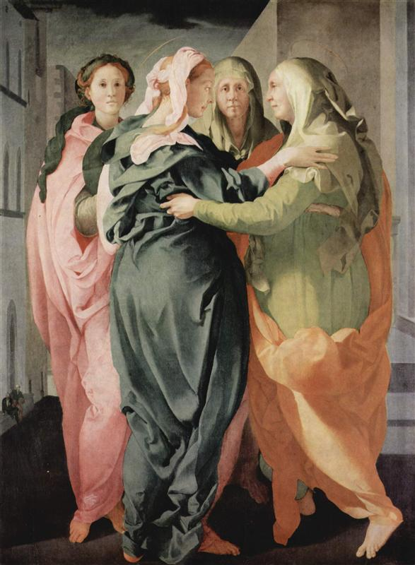 Visitation, 1529  Jacopo Pontormo