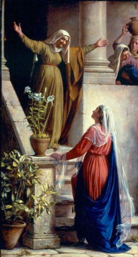 Mary and Elizabeth  Carl Heinrich Bloch