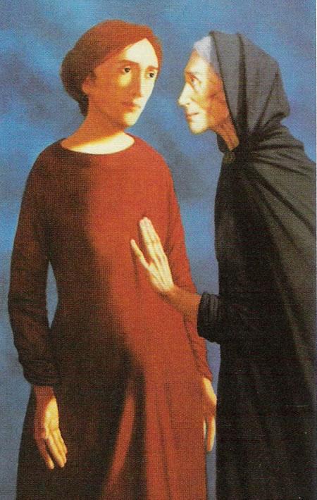Maria Visits Isabel  Michael Ciry