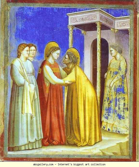 The Visitation, 1302-1305  Giotto