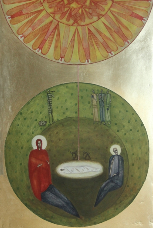 Nativity (modern icon), Natalya Rusetska ( source )