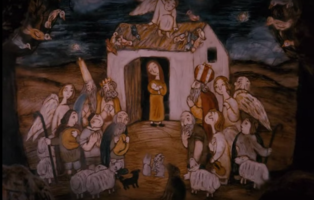 Rozhdestvo   (The Nativity)  (1996), written and directed by  Mikhail Aldashin :