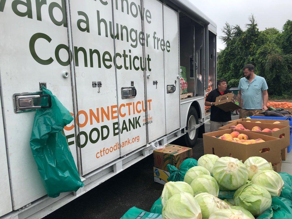 Food bank in Bridgeport