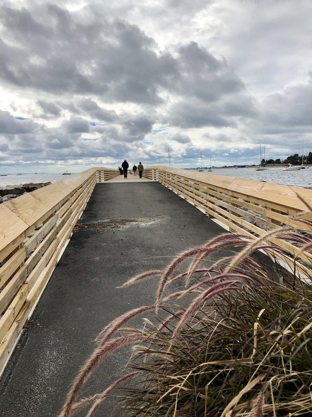 New pier at Seaside Park, Bridgeport, CT