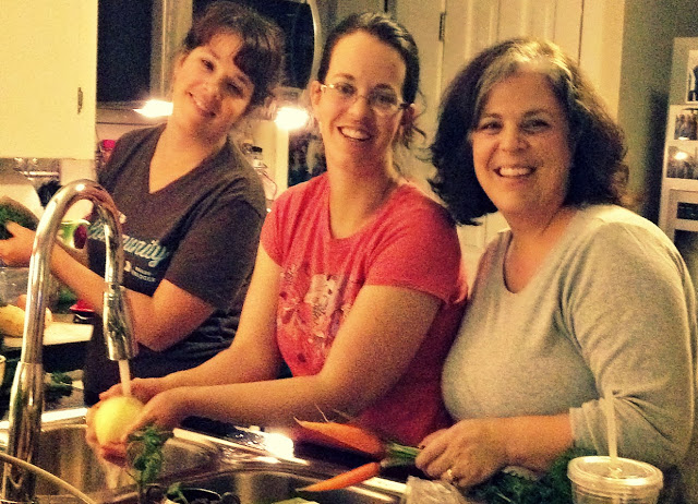 5 years ago - When my sisters flew to Austin so we could make soup together in my kitchen.
