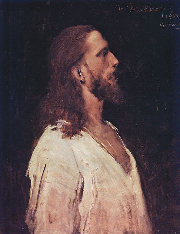 Christ Before Pilate, study by Mihály Munkácsy ( source )