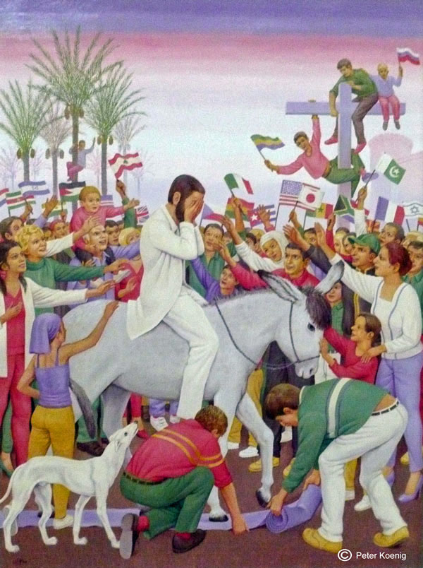 PALM SUNDAY,  PETER KOENIG   SOURCE