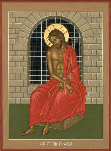 Icon of Christ the Prisoner , Nikolai Tsai   Source