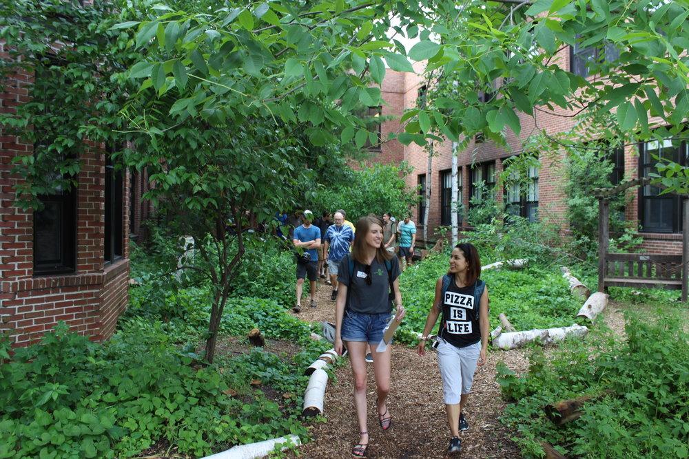 "Lowell Elementary's ""secret garden"""
