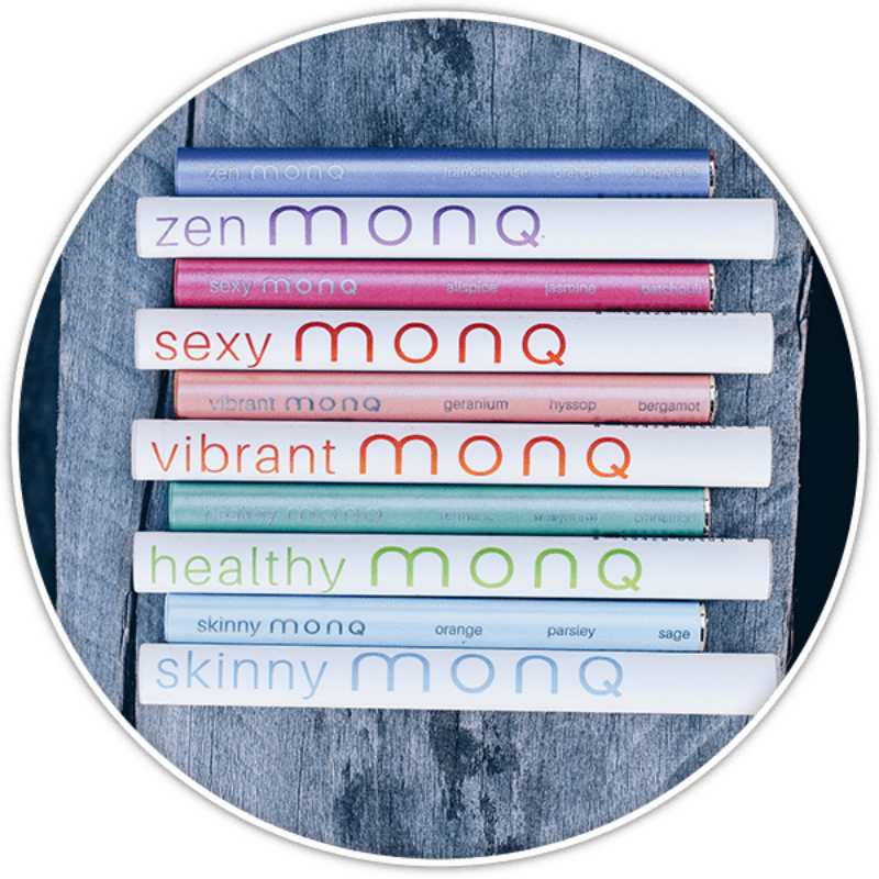Forget the smoke break. Go for the happy, or zen break. These are electronic cigarette looking things, that let you inhale a nice essential oil mix. Each one mixed for a different emotion. I LOVE THESE...