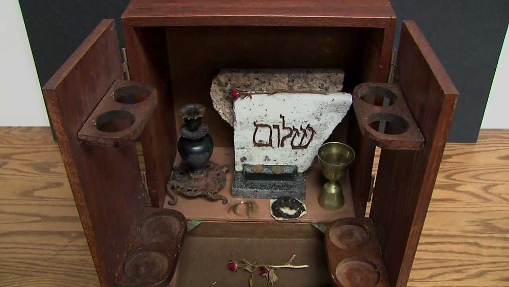 Dybbuk box, clearly this pictures are not mine, as we could not take any.