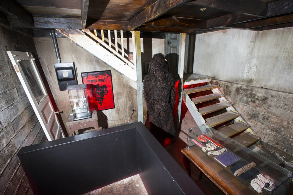 Stairs from the DEMON HOUSE