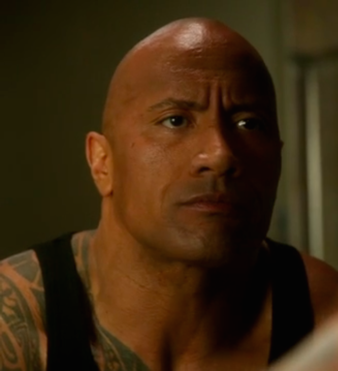 The Rock's back to television face