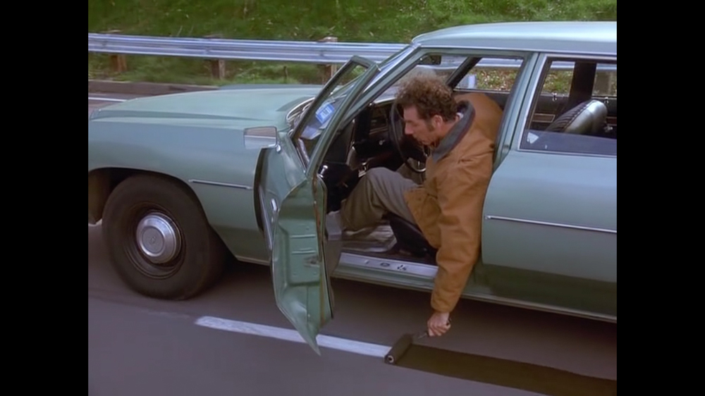 According to Kramer if you adopt a highway you should improve it anyway you can