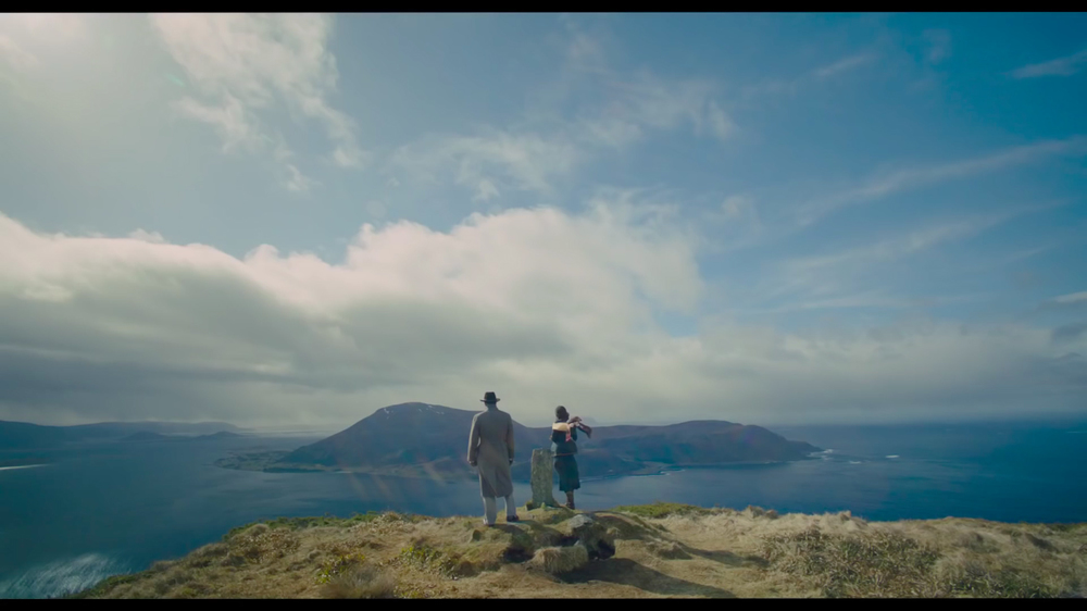 The film is riddled with gorgeous scenery as well