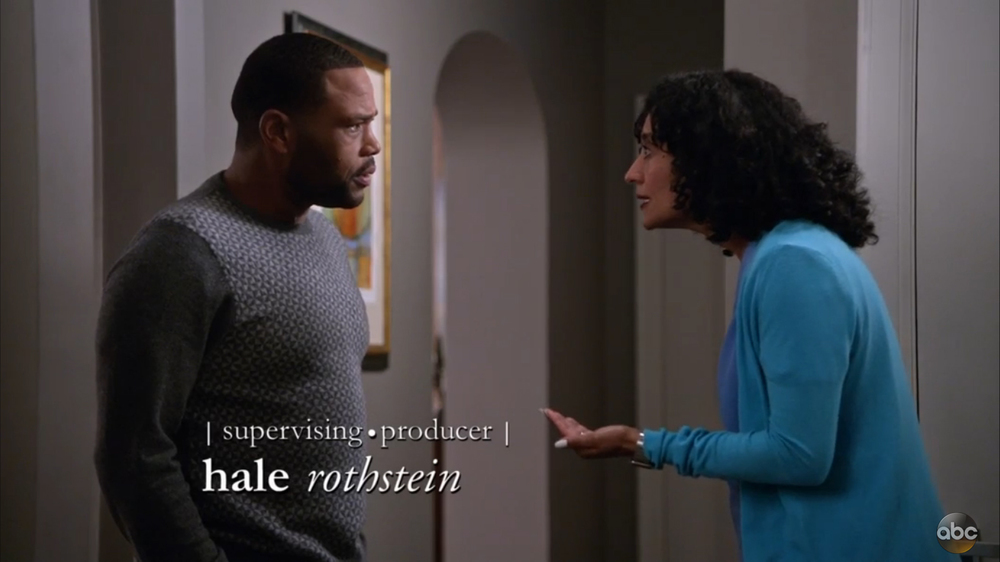 Blackish's goal is to inflict a certain stance on the audience not just discuss ideas