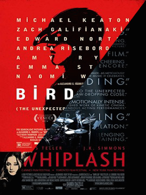 Whiplash/Birdman Comparison