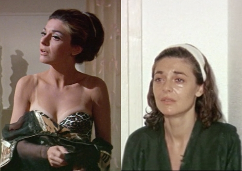 Throughout the film Mrs Robinson looks more and more disheveled