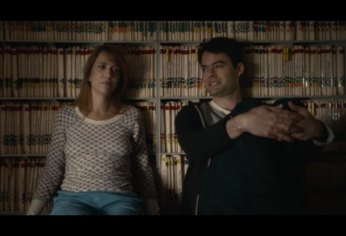 Lead actors Kristen Wig & Bill Hader