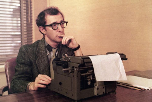 In  The Front  Woody Allen plays someone that sells blacklisted writers' scripts under his name