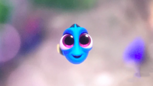 Right off the bat  Finding Dory  adds dramatic elements to Dory's character by showing her life as a child