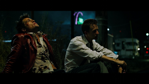 Fight Club 's twist works because the audience does not think the film will have a twist
