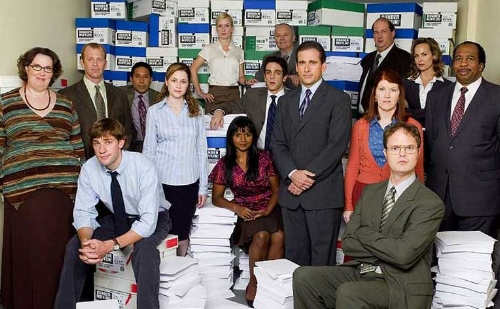 The large cast of  The Office  introduced the audience to characters not typically seen on television