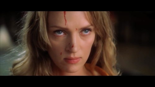 Throughout its climax,  Kill Bill Vol. 1  uses spectacle to enhance its story