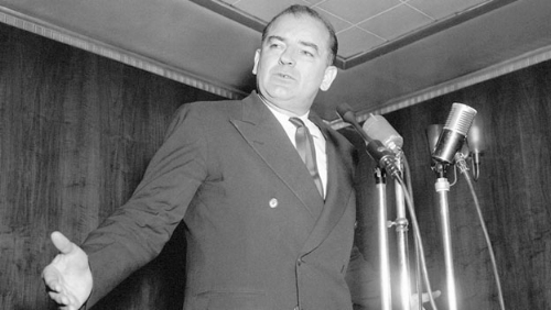 Joesph McCarthy helped incite America's fear of Communism