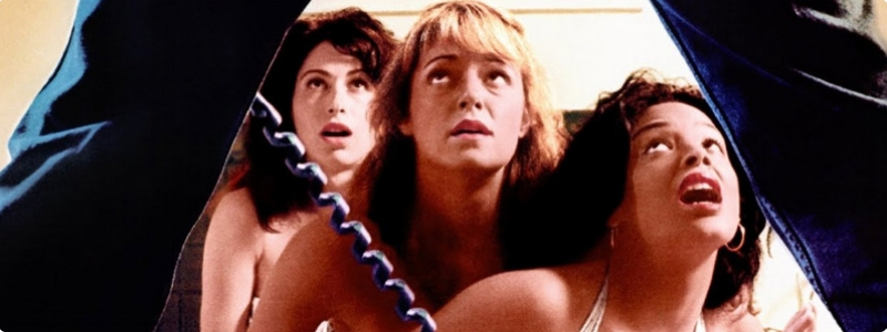 While made by women,  The Slumber Party Massacre  is one of the most misoginistic films of the eighties