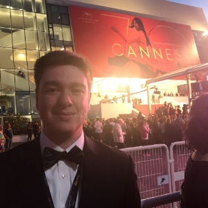 At the Red Carpet for the 70th Cannes Film Festival
