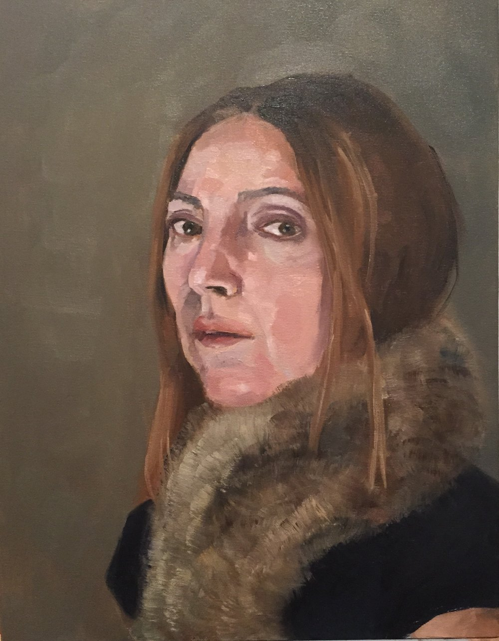 Self Portrait in Fur