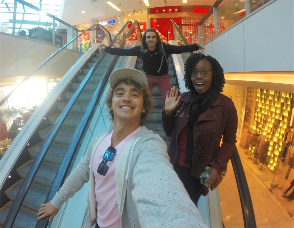 Hanging out in the Mall - Westfield Bondi Junction