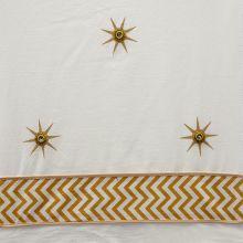 Cream w Gold Star