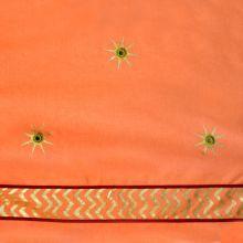 Orange w Gold Star