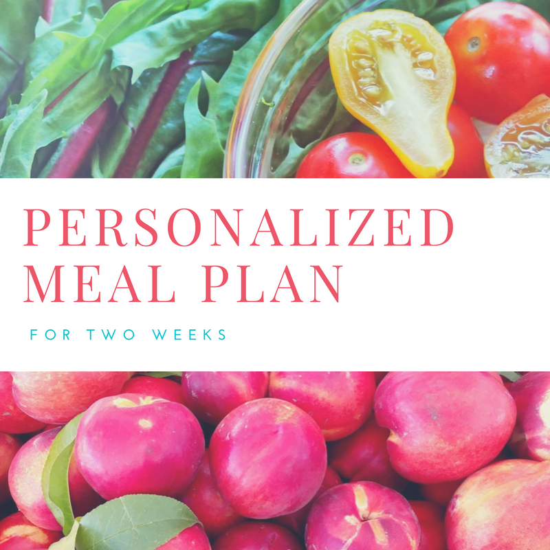 personalized meal plan health nectar