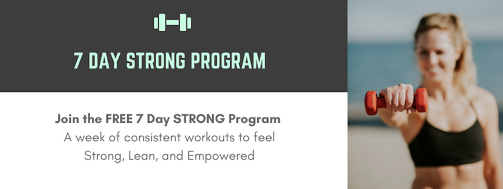 Free 7 Day Strong Program - A Week of Workouts