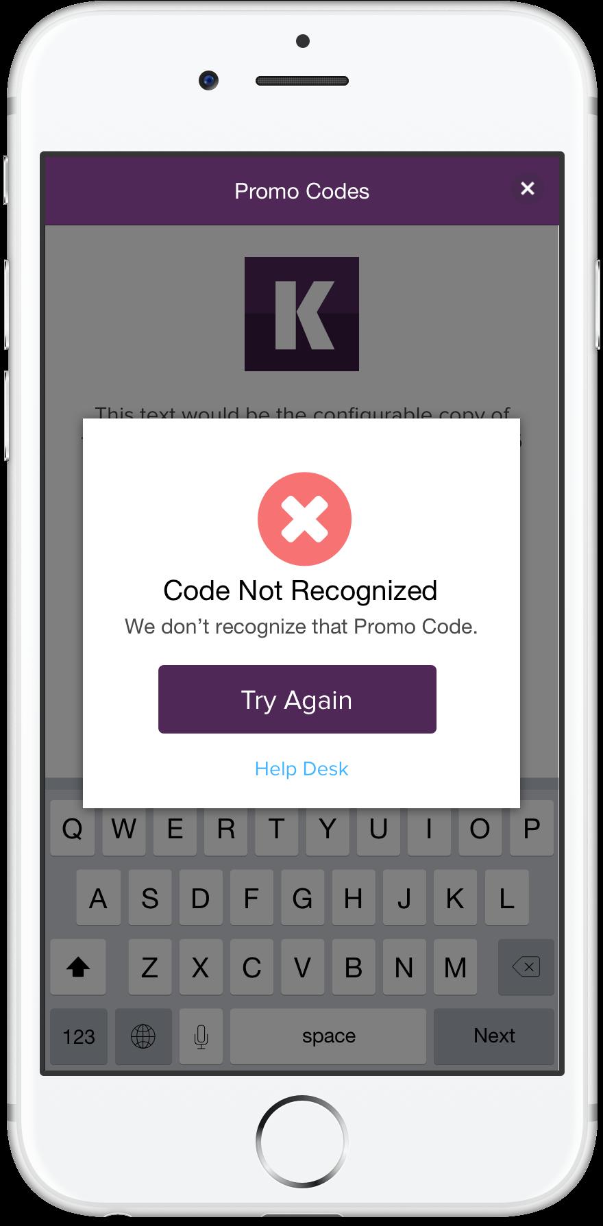 Koalla Mobile Promo Code Error.png